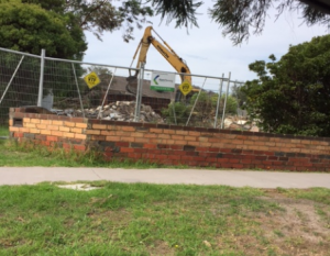 house demolition Woori Yallock